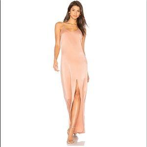 Alice + Olivia 100% Silk Elza Front Slit Dress